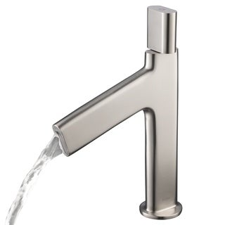KRAUS Ino Basin Single Handle Bathroom Faucet with Custom Laminar Flow