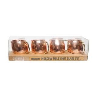 Refinery Copper Mug Shot Cups