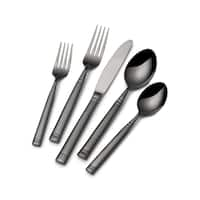 Towle Living Black Stephanie 20 Piece Flatware Set