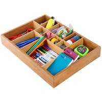 Belmint Adjustable Drawer Organizer