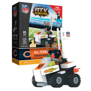 Chicago Bears NFL 4 wheel ATV with Mascot