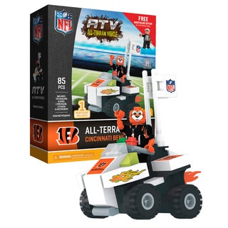 Cincinnati Bengals NFL 4 wheel ATV with Mascot