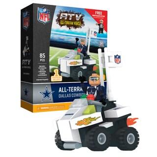 Dallas Cowboys NFL 4 wheel ATV with Cowboys Super Fan