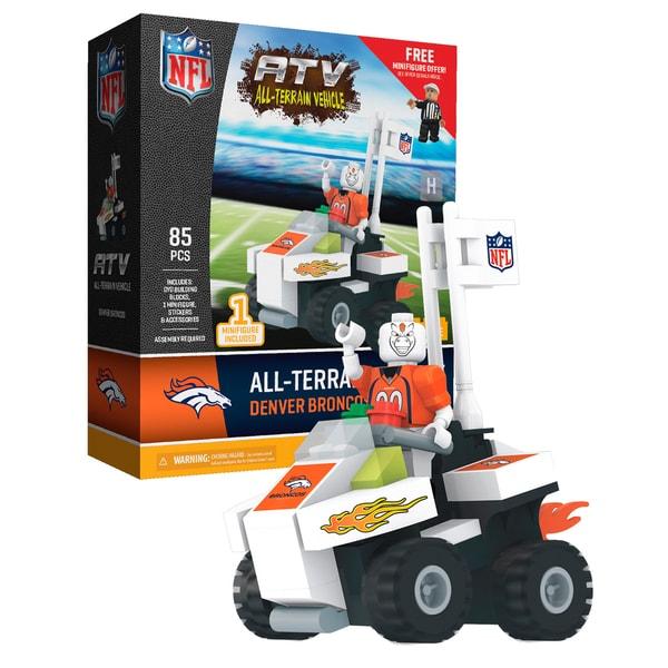 Denver Broncos NFL 4 wheel ATV with Mascot