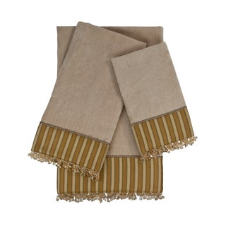 Sherry Kline Mulligan 3-piece Embellished Towel Set