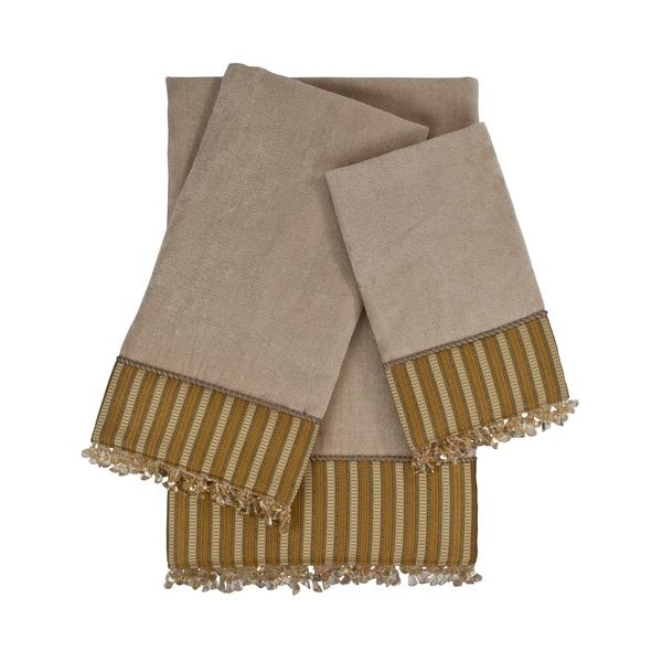 Sherry Kline Mulligan 3-piece Embellished Towel Set