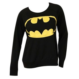 Batman Juniors' French Terry Long-sleeve Shirt