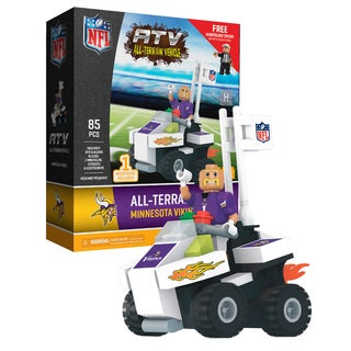 Minnesota Vikings NFL 4 wheel ATV with Mascot