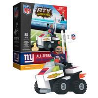 New York Giants NFL 4 wheel ATV with Giants Super Fan