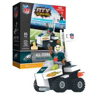 Philadelphia Eagles NFL 4 wheel ATV with Mascot