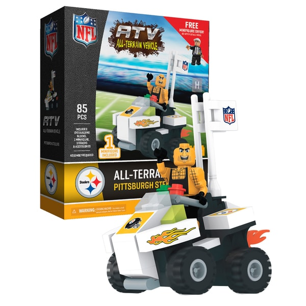 Pittsburgh Steelers NFL 4 wheel ATV with Mascot