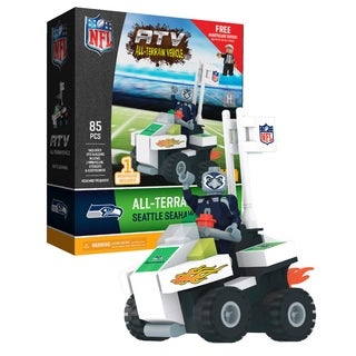 Seattle Seahawks NFL 4 wheel ATV with Mascot