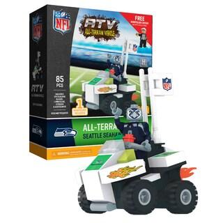 Seattle Seahawks NFL 4 wheel ATV with Mascot (Option: Seattle Seahawks)