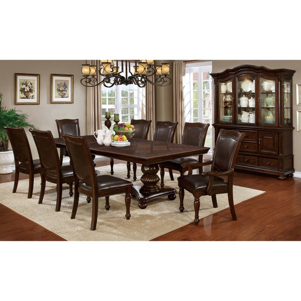 Cherry Dining Room Furniture: Shop Furniture Of America Shayson Traditional Formal 9