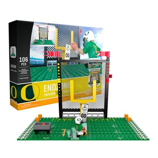 University of Oregon Ducks NCAA Endzone Set