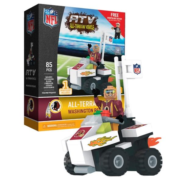 Washington Redskins NFL 4 wheel ATV with Redskins Super Fan