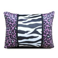 Natalie Animal Print Lumbar Throw Pillow