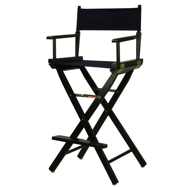 Black Frame 30 Inch Directoru0026#x27;s Chair