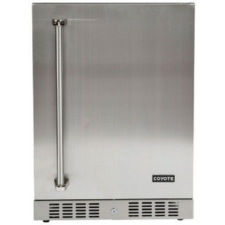 COYOTE 24-inch Stainless Steel Outdoor Refrigerator