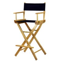 Natural Frame Canvas/Wood Director's Chair
