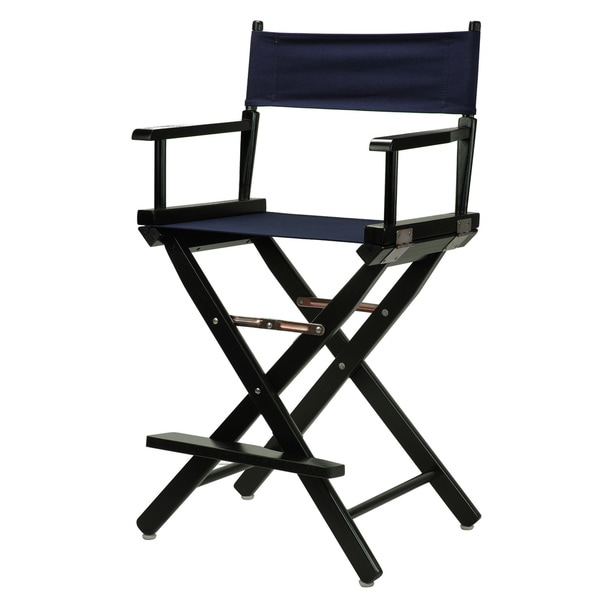 shop black frame 24 inch director s chair free shipping today