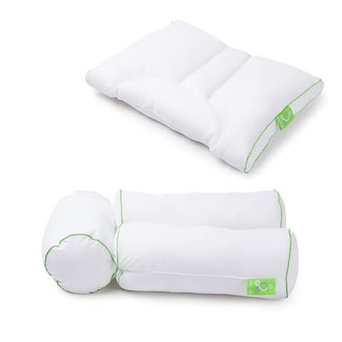 Sleep Yoga 'Sit & Sleep' 2-Piece Set - White
