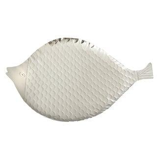 Elegance Stainless Steel Fish Platter (Size: Medium)