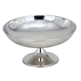"""Elegance Hammered Footed Centerpiece Bowl, 12"""" Dia.