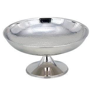 "Heim Concept Hammered Footed Centerpiece Bowl, 12"" Dia."