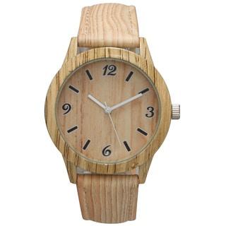 Olivia Pratt Women's Wood Print Watch