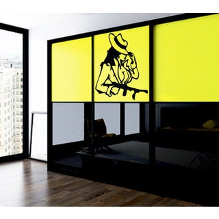 Anime decal, Anime stickers, Anime Vinyl, Girl gangster, bandit Wall Art Sticker Decal size 22x26 Co