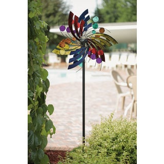 Plume Polka Dot Wind Spinner