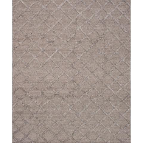 eCarpetGallery Hand-woven Cambridge Wool Kilim