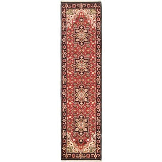 eCarpetGallery Royal Heriz Brown Wool Hand-knotted Area Rug (2'7 x 10')