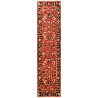 eCarpetGallery Serapi Heritage Brown Wool Hand-knotted Rug (2'7 x 10')