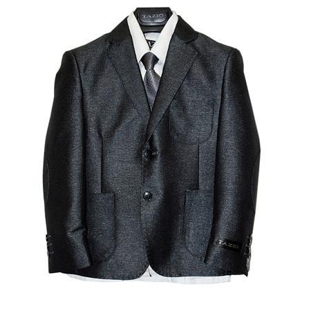 Tazio Boys Poly Rayon Boy's Suit (5-piece Set)