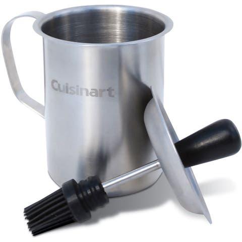 Cuisinart Stainless Steel Sauce Pot and Basting Brush Set