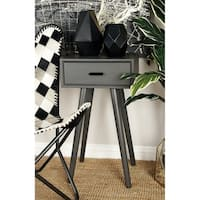 Studio 350 Wood Accent Table 16 inches wide, 28 inches high