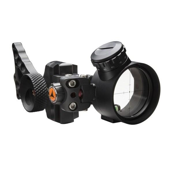 Apex Gear Covert Pro Black Green Power Dot Single Pin Bow Sight