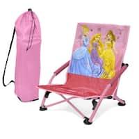 Shop Kids Rugby Stripe Beach Chair with Umbrella - Free ...