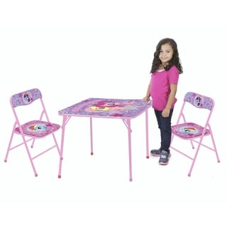 My Little Pony 3-piece Wood/Metal Table and Chair Set