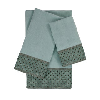 Sherry Kline Mason 3-piece Embellished Towel Set