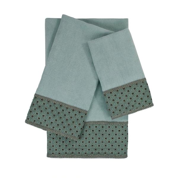 Sherry Kline Mason 3-piece Embellished Towel Set