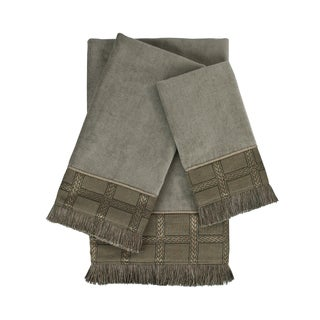 Sherry Kline Landers 3-piece Embellished Towel Set