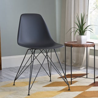 CorLiving Retro Black Dining Chair