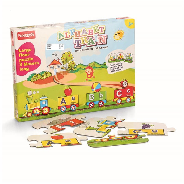 Funskool Alphabet Train Floor Puzzle
