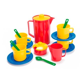 Dantoy 17 Piece Play Coffee Set