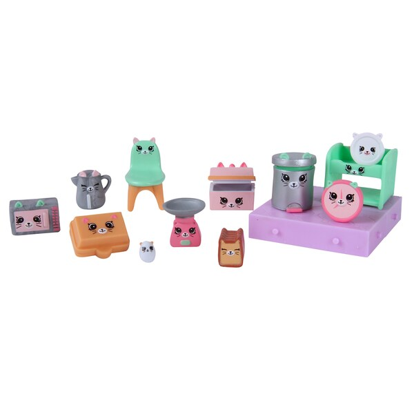 Shopkins Happy Places Kitty Kitchen Decorator Pack