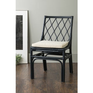 East At Main's Taft Blue Rattan Dining Chair