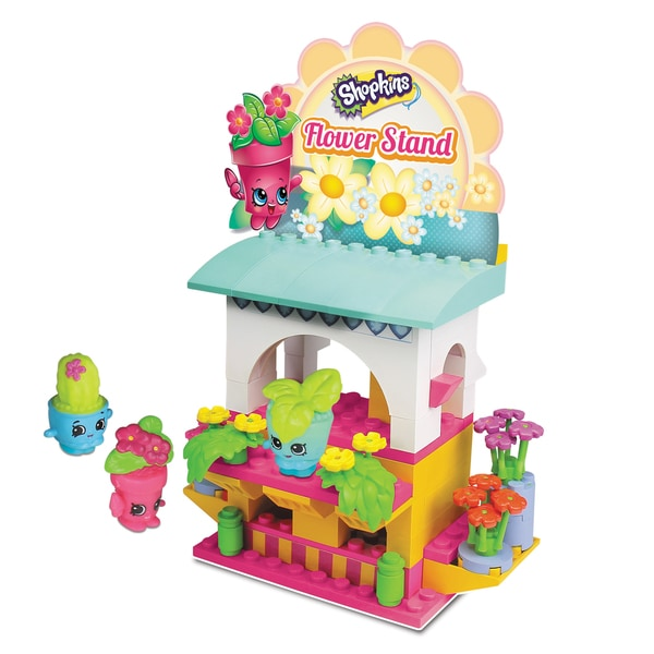 Shopkins S3 Kinstructions Flower Stand Shopping Pack